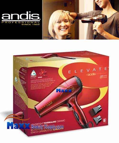 Andis #80405 Elevate Tourmaline Ceramic Ionic 1875W Hair Dryer